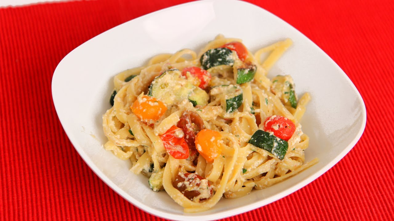 Fettucine with Fresh Ricotta Recipe - Laura Vitale - Laura in the Kitchen Episode 588