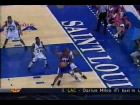 2000 NBA Draft - #3 Pick: Darius Miles (LAC) - TNT Coverage