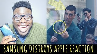 "SAMSUNG DESTROYS APPLE IN AD REACTION - ""SAMSUNG GALAXY: GROWING UP"""