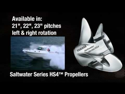 Saltwater Series HS4 Propellers