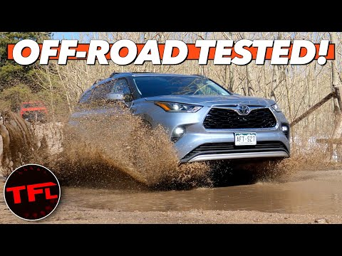 Do You Really Need A 4Runner? 2020 Toyota Highlander Mud, Snow, & Rocks Off-Road Review!