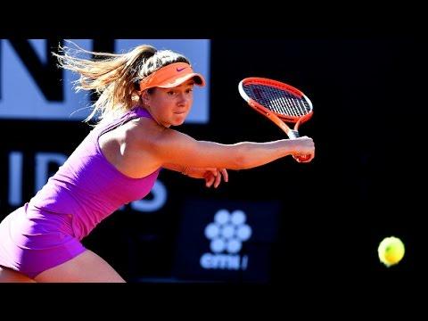 2017 Internazionali BNL d'Italia Semifinals   Elina Svitolina vs Garbine Muguruza   WTA Highlights