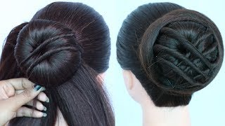latest juda hairstyle || easy hairstyles || hairstyle for wedding || twisted hairstyle || hairstyle