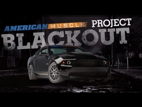 AmericanMuscle Project Blackout: Stage 4- 2012 Mustang GT