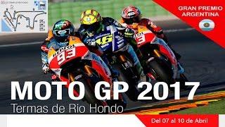 MotoGP Gp Argentina 2017 Carrera MotoGP Carrera Completa | AUDIO e informacion