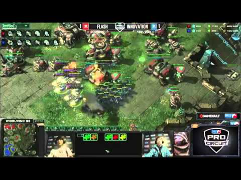 (HD677) Flash vs Innovation - G3 - MLG Dallas - Heart of the Swarm [FR]