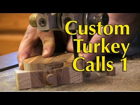 How To Make Slate Turkey Calls Part 1