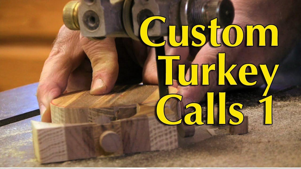 How To Make Slate Turkey Calls Part 1
