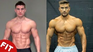 RYAN TERRY  FIVE YEAR TRANSFORMATION TO OLYMPIAN PHYSIQUE