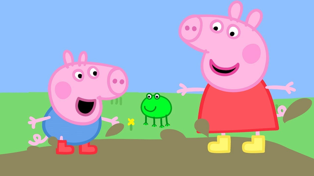 Peppa Pig Official Channel Peppa Pig Loves Muddy Puddles