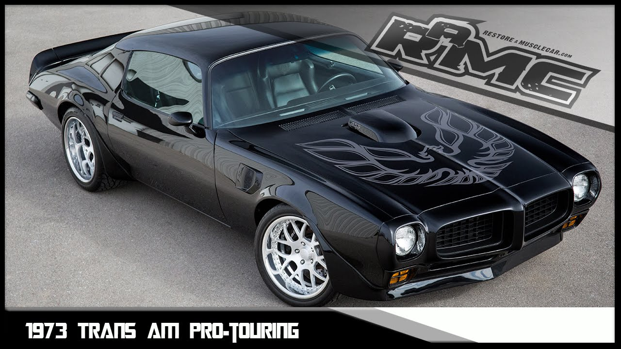 Pro Touring 1973 Trans Am For Sale - YouTube