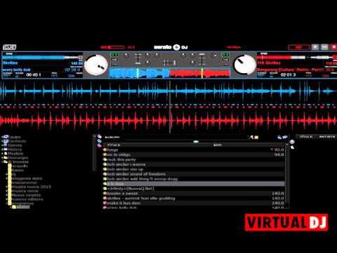 Skins 2015 virtual Dj 7 Serato skin by Skins-virtualdj-7-para Alex Quinteros