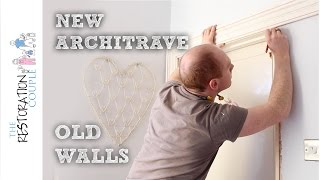 Fitting Architrave after Plastering | Hall, Stairs and Landing