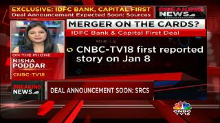 IDFC Bank, Capital First: Deal Brewing