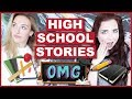 My Most Embarrassing High School Stories!