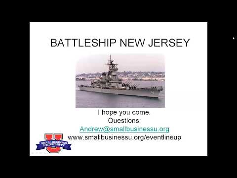 Online Marketing Seminar on Battleship New Jersey