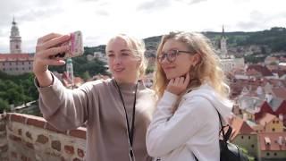 Летние каникулы в Чехии - Поездка в Чески-Крумлов