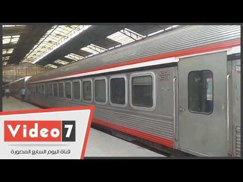 a6d3b334f تشغيل تجريبى لأول قطار مكيف بنظام