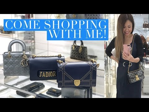 COME SHOPPING AT DIOR WITH ME! CHOOSING A BIRTHDAY BAG VLOG | Mel in Melbourne