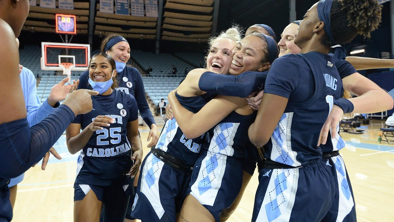 Video: UNC Women's Basketball Knocks Off No. 4 NC State - Highlights