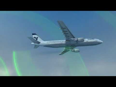 Iran Air Flight 655 - Crash Animation