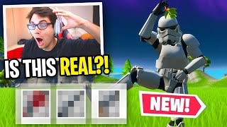 I can ONLY use guns that match my STAR WARS Skin in Fortnite... (so cool)