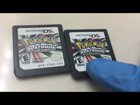 Real Vs Fake Pokemon Platinum Youtube