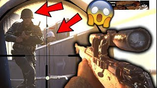 INSANE SEARCH & DESTROY SNIPING!!! (New CoD SnD Sniping Gameplay)