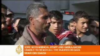 Gazan father mourns death of baby - 05 Jan 09 thumbnail