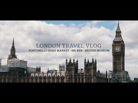 DARI PORTOBELLO ROAD MARKET KE BRITISH MUSEUM || LONDON TRAVEL VLOG