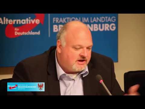 Brandenburg Tag 2018 / Pressekonferenz der AfD-Fraktion Brandenburg am 28.08.18
