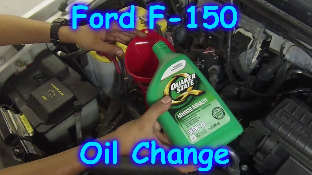 2004 ford f150 engine oil type