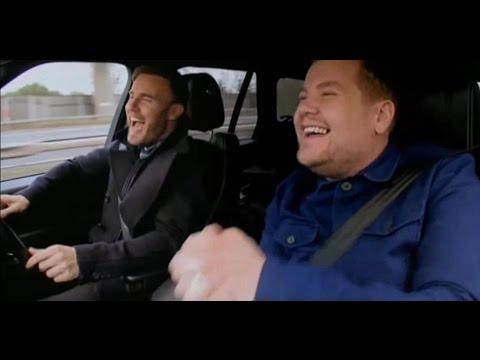 Gary Barlow Carpool Karaoke with James Corden