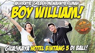 Download lagu GILA! RUMAH BOY WILLIAM KAYA HOTEL BINTANG 5 DI BALI!MEWAH BGT😱