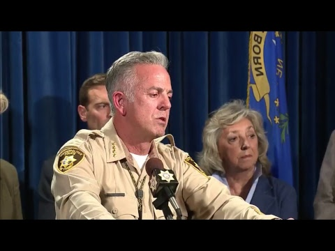 LIVE: Las Vegas police update on mass shooting