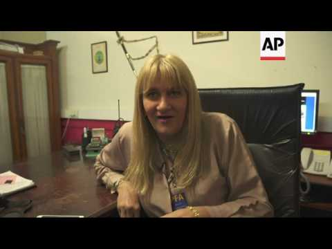 First transgender police chief on the job in Argentina