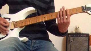 Bon Jovi - Runaway 【Guitar Cover】 ボン・ジョヴィ リッチー・サンボラ