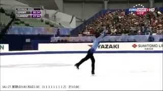村上大介さんの2014年NHK杯 フリースケーティング『ピアノ協奏曲第2番』...