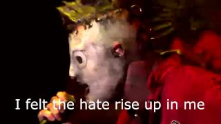 Slipknot - Wait And Bleed Live Knotfest (Lyrics)