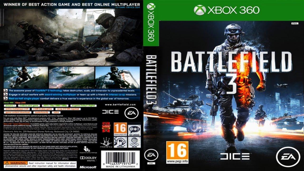 Instalando Battlefield 3 Ja No Formato God Xex Xbox 360 Rgh Jtag