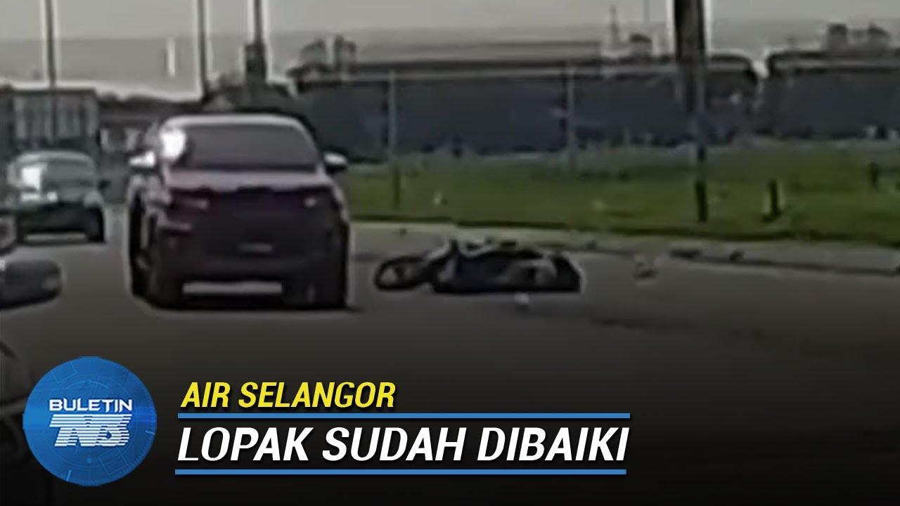 Download AIR SELANGOR | Jatuh Langgar Lopak Akibat Paip Pecah