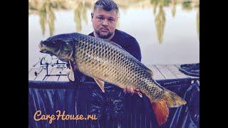 Рыбалка в Крыму озеро Украинка карпфишинг.