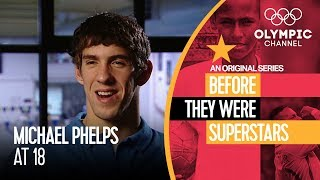 When Michael Phelps Was Just a Teenager | Before They Were Superstars
