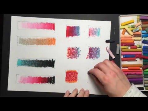 10 oil pastel techniques youtube
