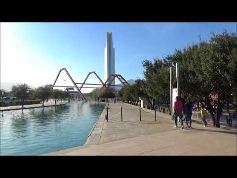 Fundidora Park and Paseo Saint Lucia Monterrey Mexico