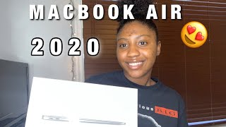 2020 MACBOOK AIR UNBOXING SPACE GRAY 13 INCH +SET UP EASY STEP BY STEP 💻