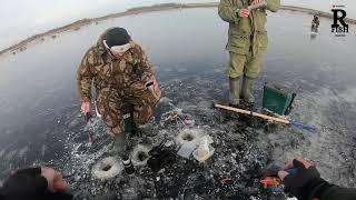 Первый лед в Бородино Как мы открывали сезон рыбалки со льда по Ротану