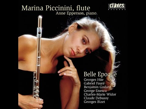 """Marina Piccinini & Anne Epperson: Charles-Marie Widor / """"Belle Epoque"""" Suite for Flute & Piano"""