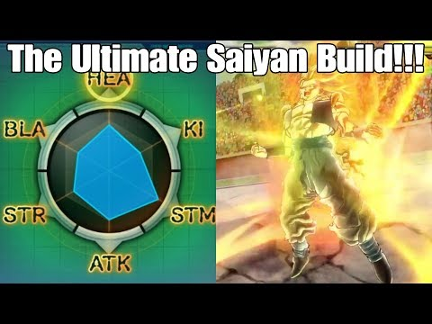 Xenoverse 2 The Godliest and Most OP Saiyan  build possible!!!!!!!! The damage is Unreal!