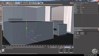 Cinema 4d | Building A Living Room Part 4